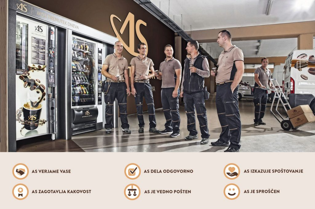 AS vrednote Automatic servis