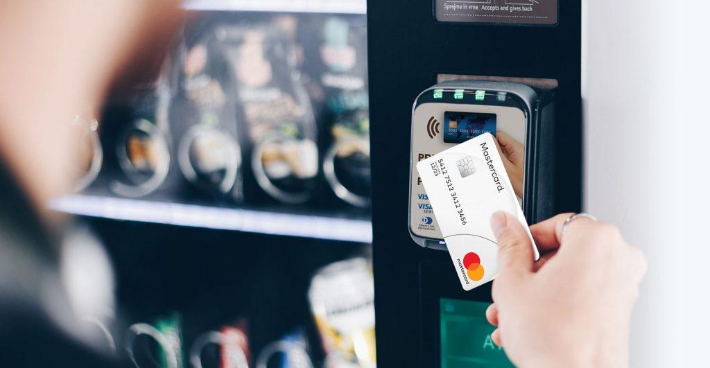 Brezstično plačilo na AS prodajnem avtomatu